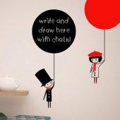 Dekorloft Balon Yazılabilir Sticker Yzb 1092