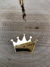 50 Adet Pleksi Kral Tacı