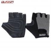 Busso Air Grip Gri Body Fitness Ağırlık Eldiveni