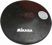 Mikasa 1 Kg Siyah Kauçuk Disk