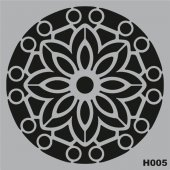 H005 Stencil Şablon 25x25cm