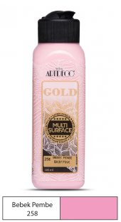 Artdeco Multi Surface Akrilik Boya 140ml Bebek Pembe 258