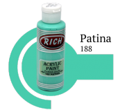 Rich 188 Patina 130 Ml Akrilik Boya