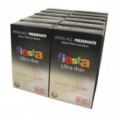 Fiesta Kondom Ultra Thin 12 Kutu Ekstra İnce Prezervatif