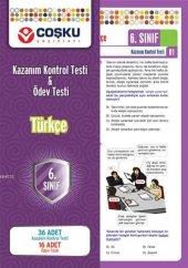 Coşku Yayınları 6. Sınıf K.k.testi&ödev Testi Türkçe