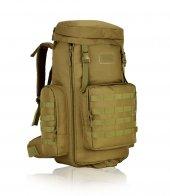 Protector Plus 408 Kamp Dağ Sırt Çantası 75+10l Haki