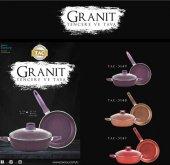 Taç Granit Plus 3 Parça Tencere Seti Renk Secenekli...