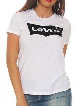 Levıs Yeni Kabartma Logo Bayan Tshırt 17369 0394