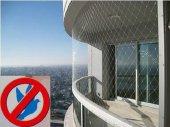 Kuş Filesi 2,5x9 22,5 M2 Kuş Ağı Balkon Ağı Balkon Filesi Güvercin Ağı Güvercin Filesi Kuş Önleme Filesi Güvercin Önleme Filesi