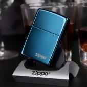 Orjinal Faturalı Zippo Sapphire Blue Zippo Çakmak ...