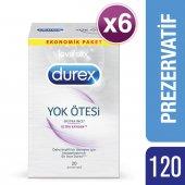 Durex Yok Ötesi Ultra Kaygan Prezervatif, 120li Süper Fırsat