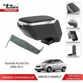 Bylizard Hyundai Accent Era 2006 2012 Delmesiz Çelik Ayaklı Armor 2 Kolçak Kol Dayama Lüx