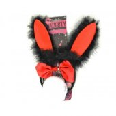 Yabidur Tavşan Kostüm Seti Otrişli Kırmızı Renk