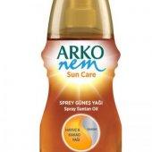 Arko Sun Güneş Yağı 150ml Havuc &amp Kakao