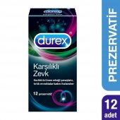 Durex Karşılıklı Zevk Prezervatif, 12li
