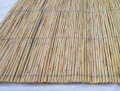 Kamış Çit Ahşap Çit Eni 3 Metre Uzunluk 4,5 Metre Dekoratif Çit Bambu Çit Rulo Bambu Çit Hasır Çit