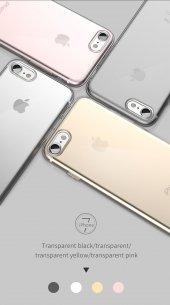 Iphone 7 8 Ultra İnce Kırılmaya Dayanıklı Şeffaf Kılıf
