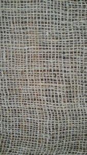 Telis Bezi Kanaviçe Kumaş 1x20 20 M2 7lik Sık Dokulu Jüt Kumaş Süsleme Kumaşı Kendir Kumaş Çuval Kumaşı