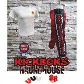 Raundhouse Kick Boks Pantolonu & Kick Boks Tişört Bandaj Dişlik