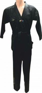 Siyah Taekwondo Elbisesi
