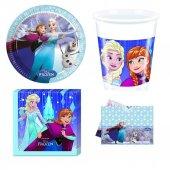 Frozen Snowflakes Parti Seti 16 Kişilik