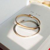 Kilitli Design Harika Bileklik Gümüş Ve Altın Renk 30 Tl Üzeri Üc