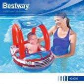Bestway Gölgelikli Araba Form Bot Baby Float, 34093