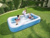 Bestway Jumbo Boy Deluxe Dikdörtgen Şişme Aile Havuzu 54009