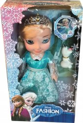 Karlar Prensesi Şarkı Söyleyen Frozen Elsa Ve Olaf 35 Cm