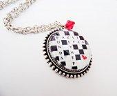 Gümüş Kaplama Kişiye Özel İsimli Bulmaca Resimli Kolye Sevgiliye Hediye Mko105