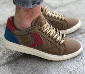 Masst Coton 0707 Hardal Bordo Renk Günlük Ayakkabı