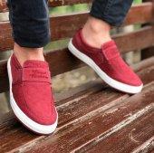 Consept 519 Bordo Renk Günlük Ayakkabı
