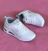 Conpax 3027 Beyaz Renk Günlük Ayakkabı
