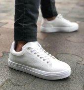 Conteyner 285 Negron Beyaz Renk Günlük Ayakkabı