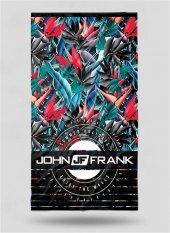 John Frank Plaj Havlusu Jfss18tw16 Red Forest