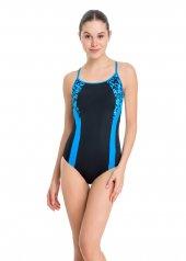 Dagi Kadın İnce Askılı Yüzücü Mayo Mavi B0118y0034mv