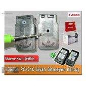Canon Pixma Mx 420 Pg 510 Siyah Orj Bitmeyen Kartuş