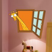 Dekorloft Çocuk Odası Pencere Sticker Pnc 803