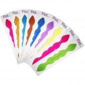 Renkli Topuz Tokası Kampanyalı Ürün 9 Adet