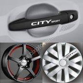 Honda City Kapı Kolu Jant Sticker