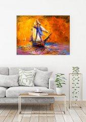 Tekne Yağlı Boya Kanvas Tablo