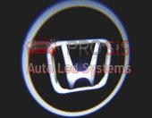 Honda Araçlar İçin Pilli Yapıştırmalı Kapı Altı Led Logo