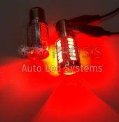 P21w 1156 Ba15s Led Ampul Kırmızı 500 Lumen Ultra Parlak