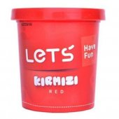 Lets Have Fun Tek Renk Oyun Hamuru Kırmızı