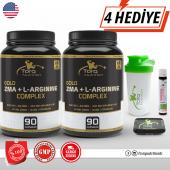 2 Adet Torq Nutrition Gold Zma + L Arginine Complex Skt 05 2021