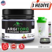 Argıtorq L Arginine Powder 300 Gr. 60 Servis Meyve Aromalı