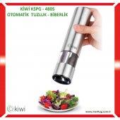 Kiwi Kspg 4805 Çelik Ve Seramik Otomatik Tuz Ve Karabiber Değirmeni