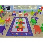 Confetti Çocuk Odası Anaokulu Oyun Halısı Game