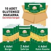 Beşler Glutensiz Lezzetli Makarna Paketi 10lu Koli...