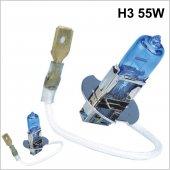Xenon Görünümlü Beyaz 5000k Halojen Ampul 12v H3 55w (Set) (2018021290)